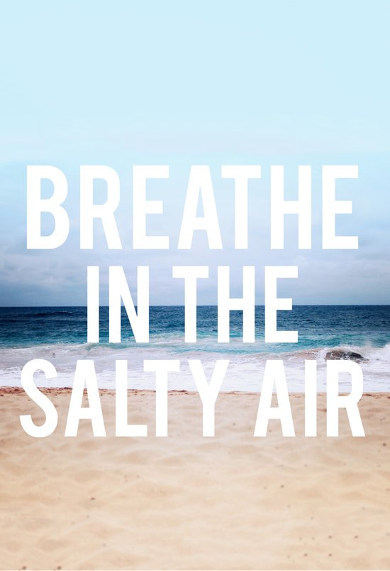 Salty Air Canvas Print