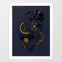 Lady3 Art Print