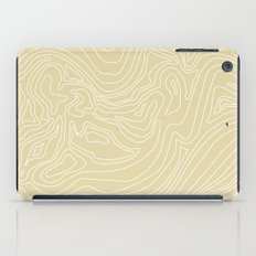 Ocean depth map - sand iPad Case