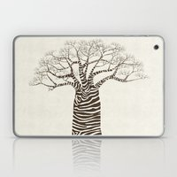 Zebra Tree Laptop & iPad Skin