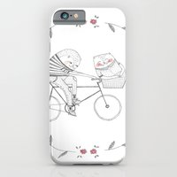 bicycle cat iPhone 6 Slim Case