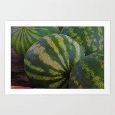 Watermelon I Art Print