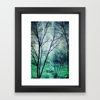 Wintergreen Twilight Framed Art Print