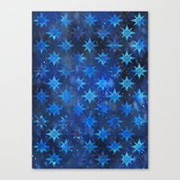 Tribal America {STARS} Canvas Print
