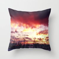 Arctic Warmpth Throw Pillow