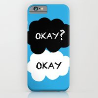 iPhone & iPod Case featuring TFIOS - Okay by Ashleigh