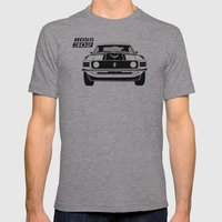 Boss 302 Mens Fitted Tee Athletic Grey SMALL