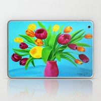 Tulips for Easter Laptop & iPad Skin