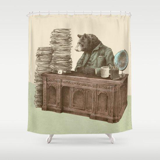 Bearocrat Shower Curtain