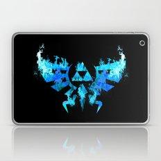 Zelda In Blue Fire Laptop & iPad Skin