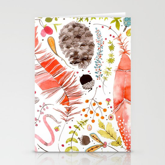 WASHED OUT OF OUR BONES Stationery Card