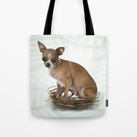 A little confused Tote Bag