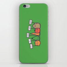 I hate vegans iPhone & iPod Skin