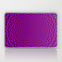 Pulse in Red and Blue Laptop & iPad Skin