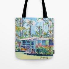 Kauai Blue Cottage 2 Tote Bag