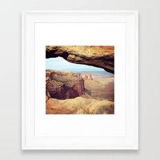 Canyonlands - Scenic Landscape Photo Framed Art Print