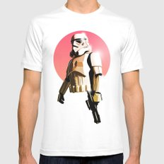 Stormtrooper Mens Fitted Tee White X-LARGE