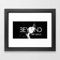 Beyond : Two Souls  Framed Art Print