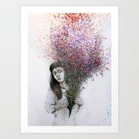 I Tried To Draw My Soul … Art Print