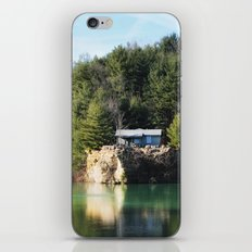 Cabin on the Lake iPhone & iPod Skin
