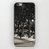 Night And Lights iPhone & iPod Skin