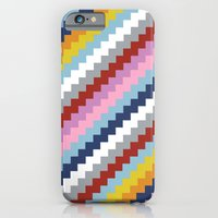 iPhone & iPod Case featuring Map Quilt 45 by Project M