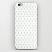 Green Spotty Pattern  iPhone & iPod Skin