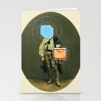 TV Man Stationery Cards
