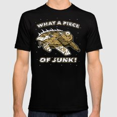 What a Piece of Junk! SMALL Mens Fitted Tee Black
