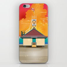 At The Beach iPhone & iPod Skin