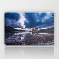 Dark Skies at Eilean Donan Castle Laptop & iPad Skin