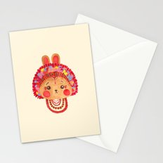 The Flower Crown Bunny Stationery Cards