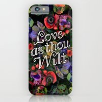 Love As Thou Wilt iPhone 6 Slim Case