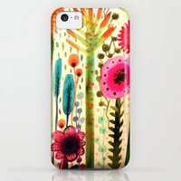 iPhone 5c Cases featuring printemps by sylvie demers