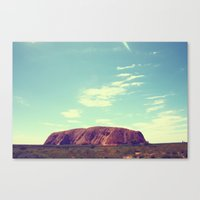 Ayes Rock - Australia Canvas Print