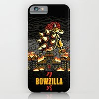 iPhone & iPod Case featuring BOWZILLA by MEKAZOO