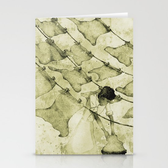 Salt of the earth Stationery Card