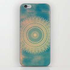 GOLDEN SUN MANDALA iPhone & iPod Skin
