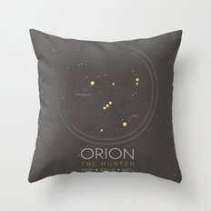 Orion Constellation - Th… Throw Pillow