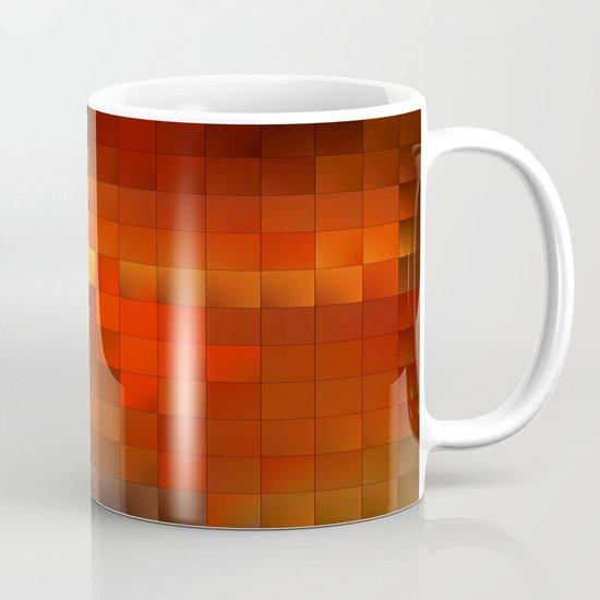 light squares Mug