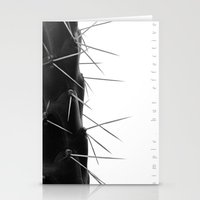 Simple - but effective. Stationery Cards