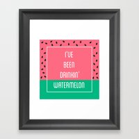 Beyonce Said It Best Framed Art Print