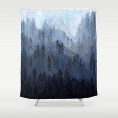 Mists No. 3 Shower Curtain