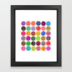 colorplay 15 Framed Art Print