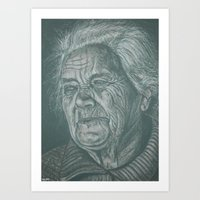 Much Love Grandma! Art Print