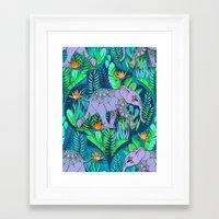Little Elephant on a Jungle Adventure Framed Art Print