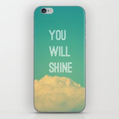 Baby, you will shine! iPhone & iPod Skin