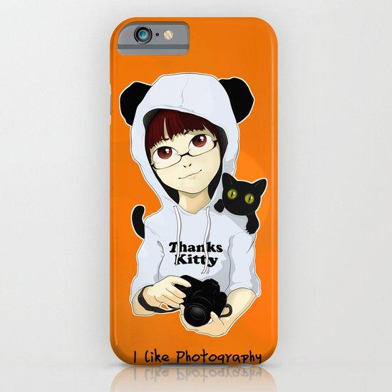 thanks kitty - i like photography iPhone & iPod Case