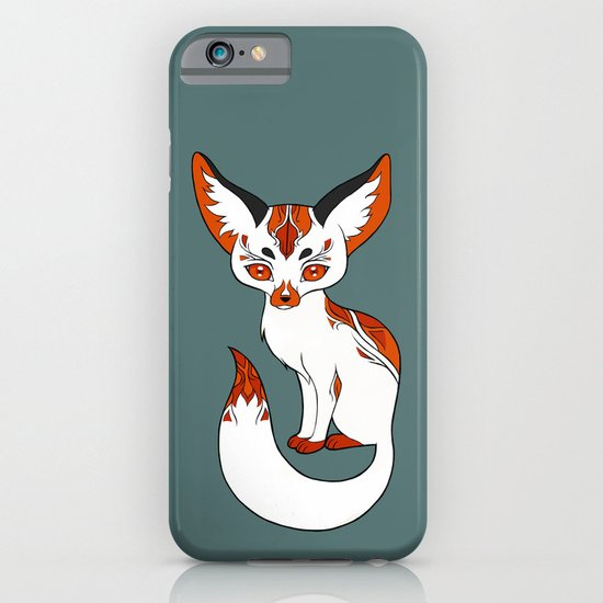 Mysterious Fox iPhone & iPod Case