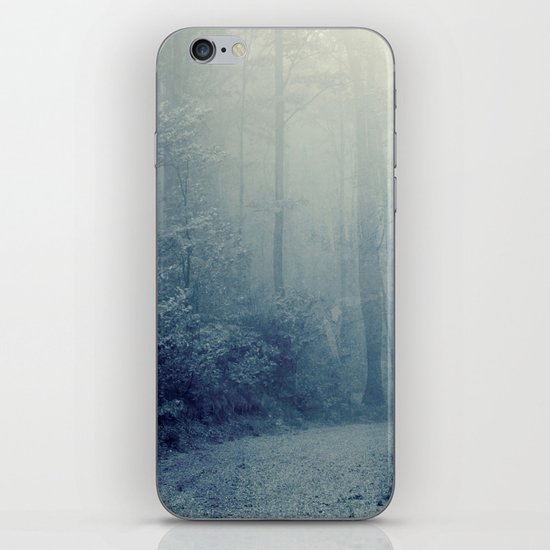 Wander in a Woodland Fog iPhone & iPod Skin